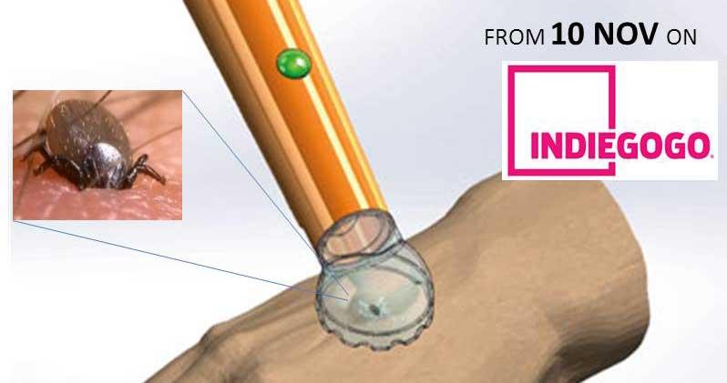 Garrapat Tick removal device
