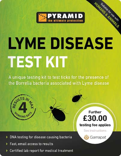 Lyme Disease Test from Garrapat